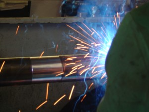 Cladding or Weld-over on Aquamet shafts