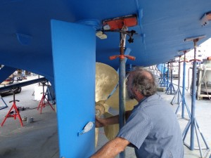 Class ABS and Lloyds Rudder Bump Test